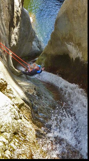 Canyoning dans l'Aude 11