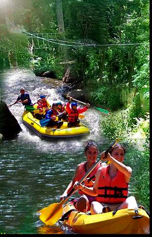 Rafting dans les Pyrénées Orientales