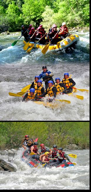 Le Rafting dans les Pyrénées !